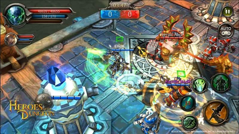 Heroes of Dugeon - ARPG siêu khủng của Mobile tung Update cực tởm