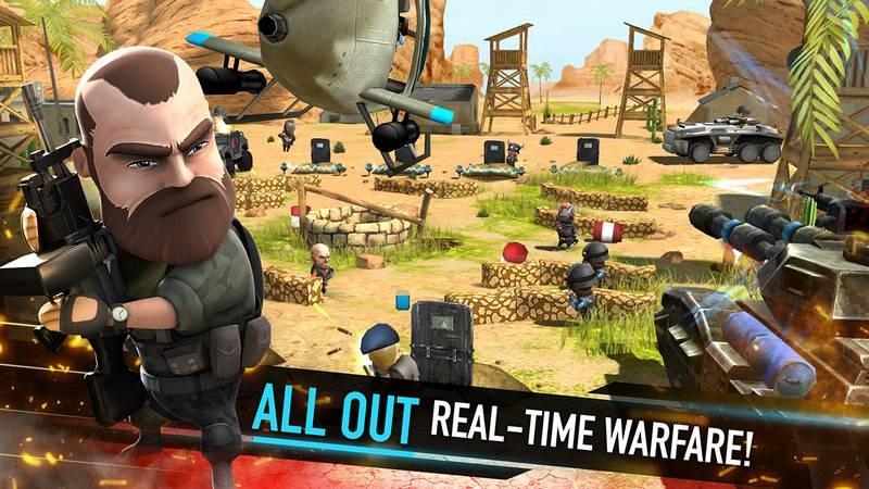 WarFriends - Kịch chiến PvP với game siêu khủng Mobile