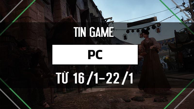 Điểm tin game PC tuần 3 tháng 1/2017