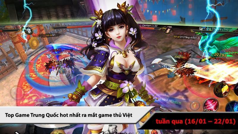Top 5 game Trung Quốc HOT nhất (16/01 -...