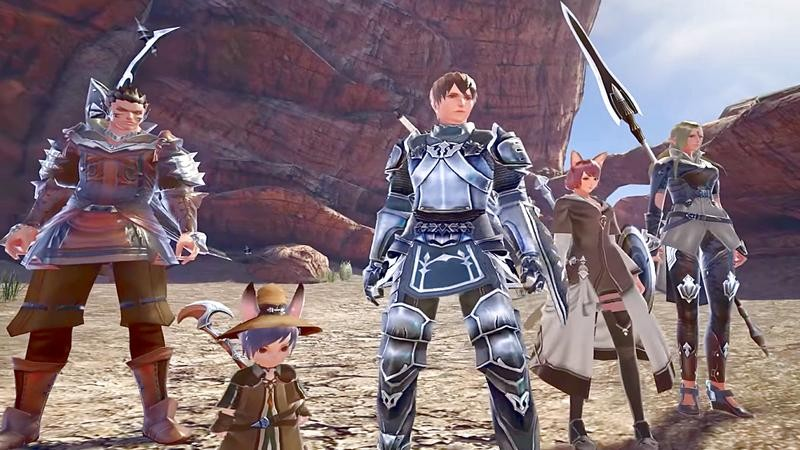 Gate of Rebellion - Game Mobile siêu khủng của ông trùm MMO Nhật