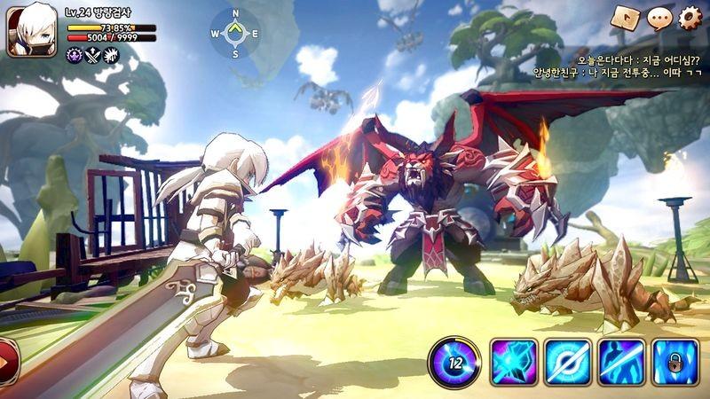 Bom tấn Summoners War bất ngờ có phiên bản MMO siêu đẹp