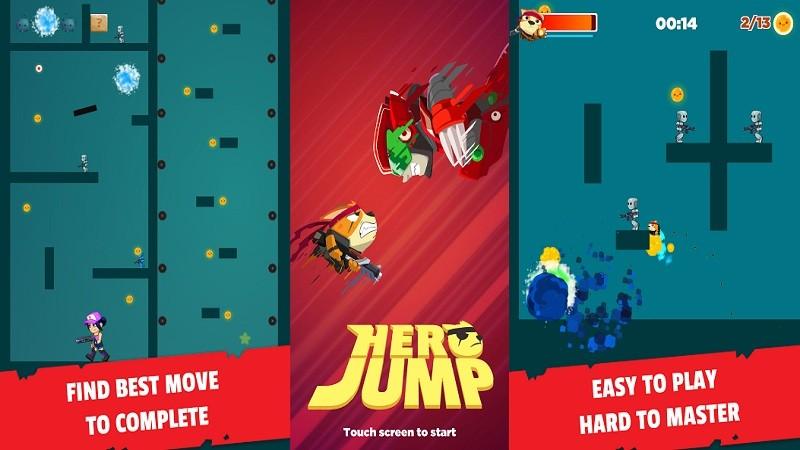 Trải nghiệm Hero Jump – Game dành cho người muốn đổi đời