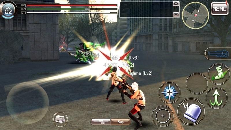 God Eater Online - MMORPG cho 100 Gamer combat chính thức lên Mobile