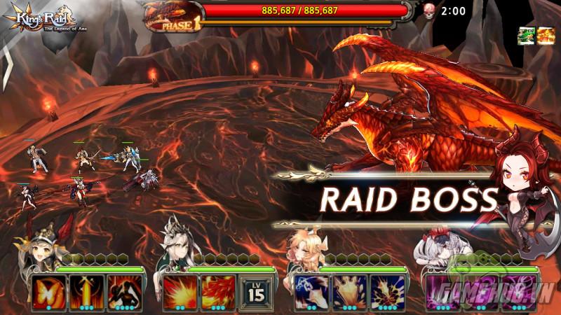 Vua Chinh Phạt - King's Raid : The Legend of Aea chính thức ra mắt - ảnh 4