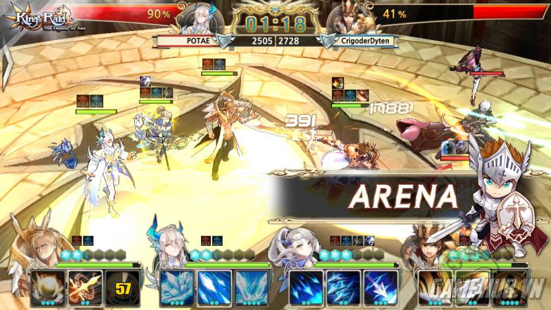 Vua Chinh Phạt - King's Raid : The Legend of Aea chính thức ra mắt - ảnh 5