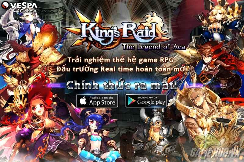 Vua Chinh Phạt - King's Raid : The Legend of Aea chính thức ra mắt - ảnh 6