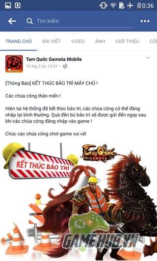 """Tam Quốc Gamota đập tan tin đồn """"đóng cửa"""" – Game thủ nhận quà lớn - ảnh 1"""
