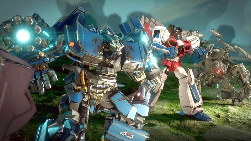Transformers: Forged to Fight trình diễn đồ họa ngây người qua Trailer mới
