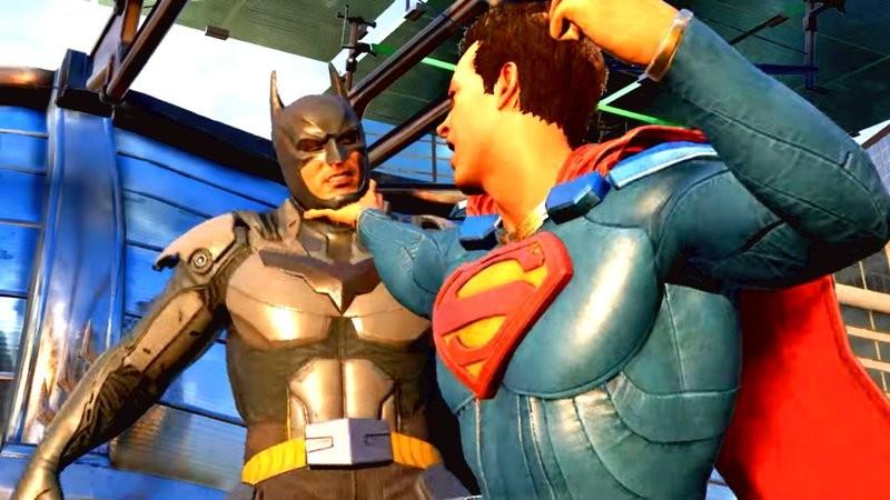 Superman đập Batman tơi bời trong Trailer mới của Injustice 2