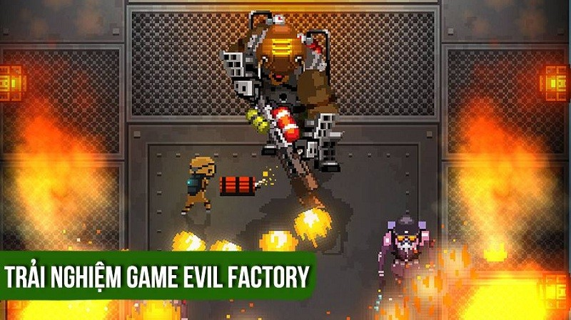 [REVIEW GAME] Evil Factory - Game 4 nút cực...