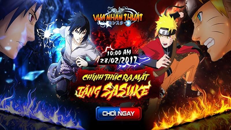 Fan Naruto choáng-toàn-tập trước tính năng hợp kích cực độc đáo trong Vua Nhẫn Thuật
