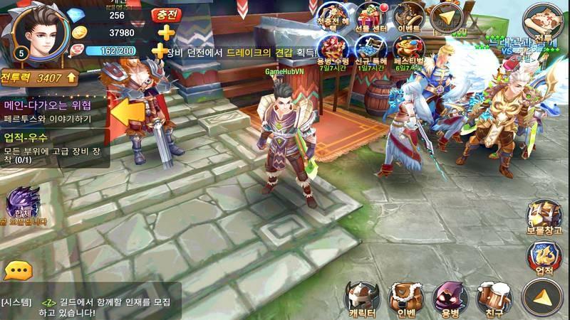 Final Dragon Knights - ARPG Hàn lai máu WarCraft mang bão lên Mobile