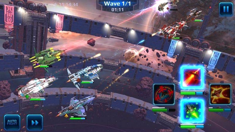 Star Combat Heroes - Rựa lửa thiên hà trong game Mobile siêu Hardcore