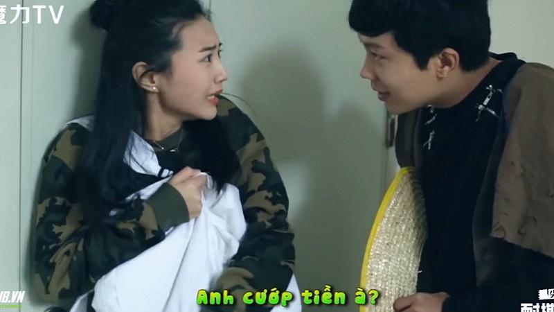 [Hài Trung Quốc] Thằng ăn mày mất dạy