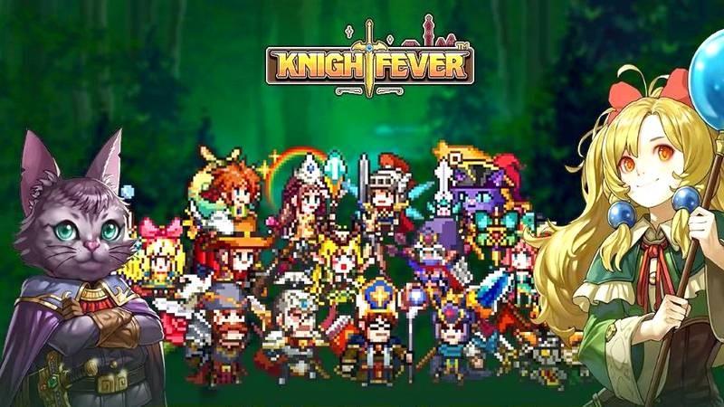 Knight Fever - ARPG đúng chất 4 nút của cha đẻ MU