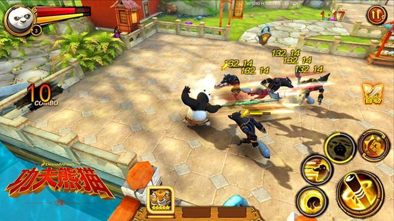 Kungfu Panda 3 phiên bản ARPG chuẩn bị mang bom lên Mobile thế giới