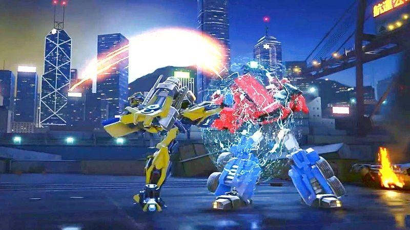 Transformers: Forged to Fight - Xem xong Trailer chỉ muốn đập ngay con điện thoại