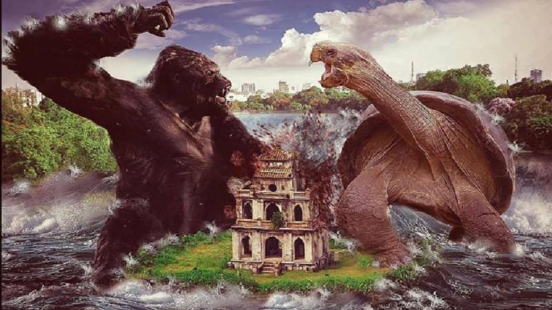 hình ảnh king kong, king kong, kong: skull island