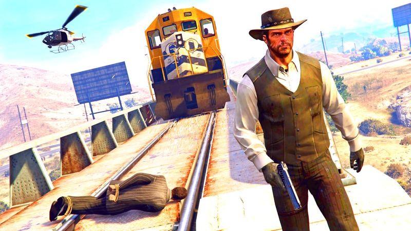 Gamer độ nguyên Map của Red Dead Redemption vào GTA 5