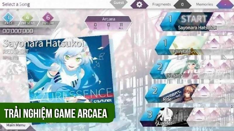 [REVIEW GAME] Arcaea - Game cực chất! Nhạc cực hay!