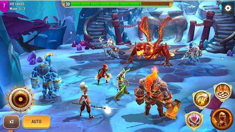 Might & Magic: Elemental Guardians - Heroes huyền thoại lộ diện Mobile