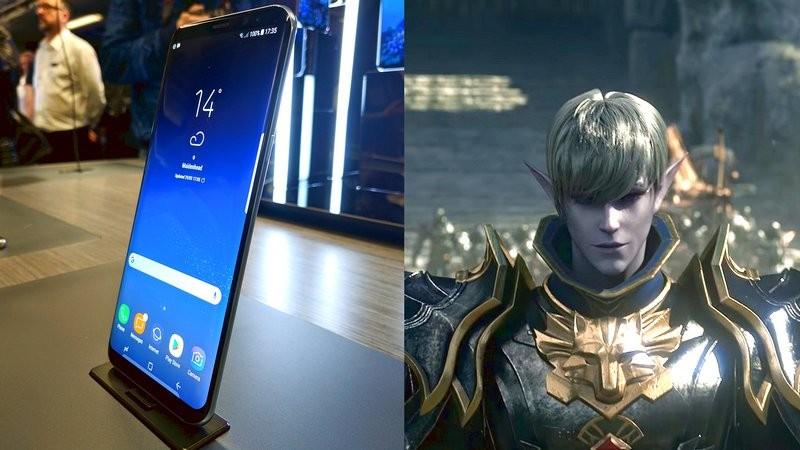 Galaxy S8 bất ngờ kết duyên với siêu phẩm Lineage II: Revolution