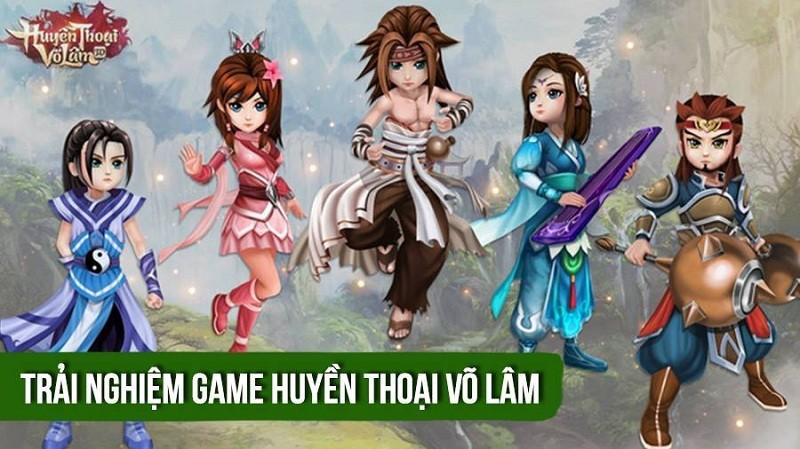 Trải nghiệm Huyền Thoại Võ Lâm - Game...