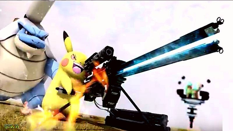 Choáng trước vẻ ngầu lòi của các Pokemon khi được vũ khí hóa