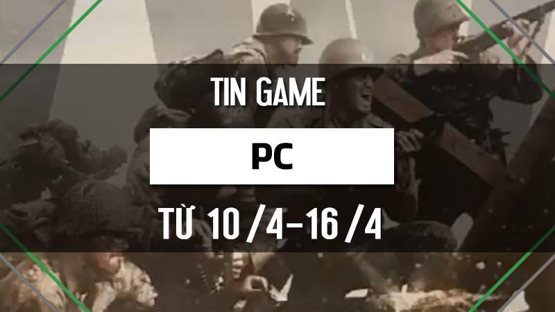 Điểm tin game PC tuần 2 tháng 4/2017
