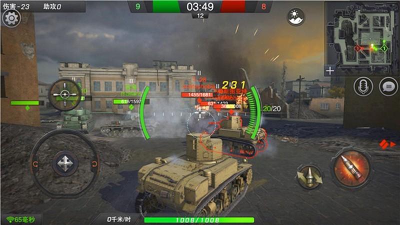 Đại đội Tanks - Đấu tăng online hàng khủng đánh tiếng Mobile