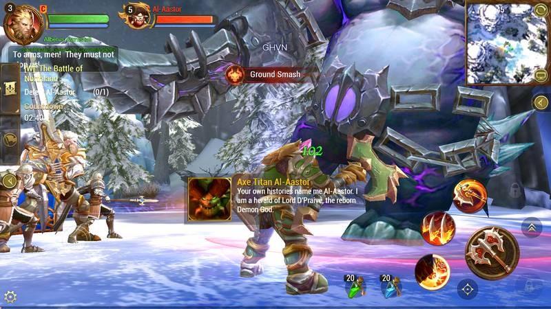 Tải ngay Crusaders of Light - World of WarCraft phiên bản Mobile của NetEase
