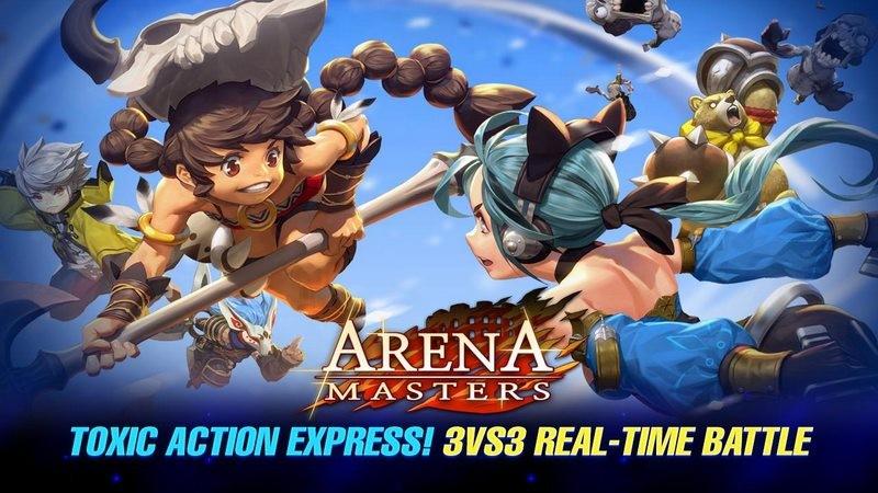 Hàng khủng MOBA Arena Master tung chế độ Battle trong bản Update Legend begins