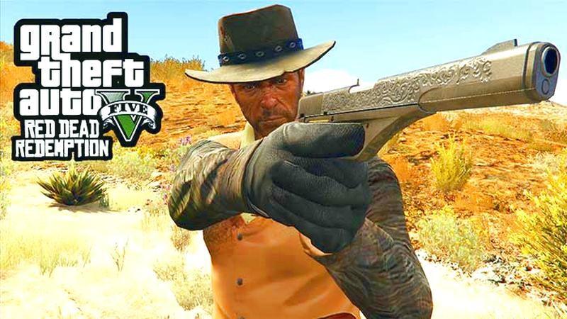 Bản Mod Red Dead Redemption vào GTA 5 bị hủy vì dính bản quyền