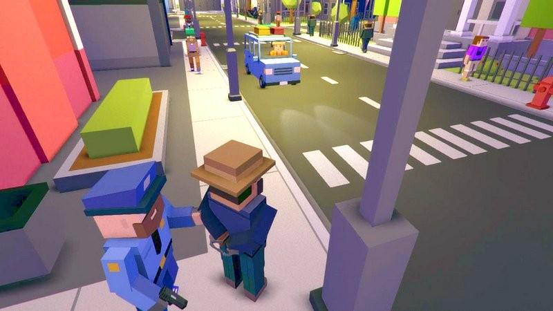 Tải miễn phí Broke Protocol - Game độc kết hợp GTA 5 với    Minecraft