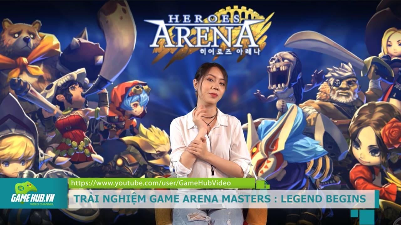 Trải nghiệm Arena Master - MOBA khủng của Nexon