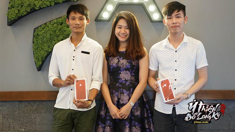 Lộ diện game thủ chiến thắng sự kiện Đua TOP Ỷ Thiên nhận iPhone 7 Red
