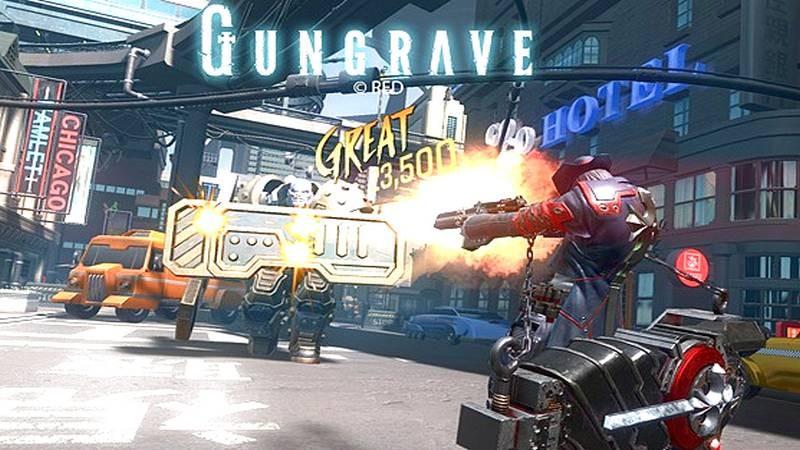 Gungrave - Game bắn súng vừa khủng vừa chất trên VR