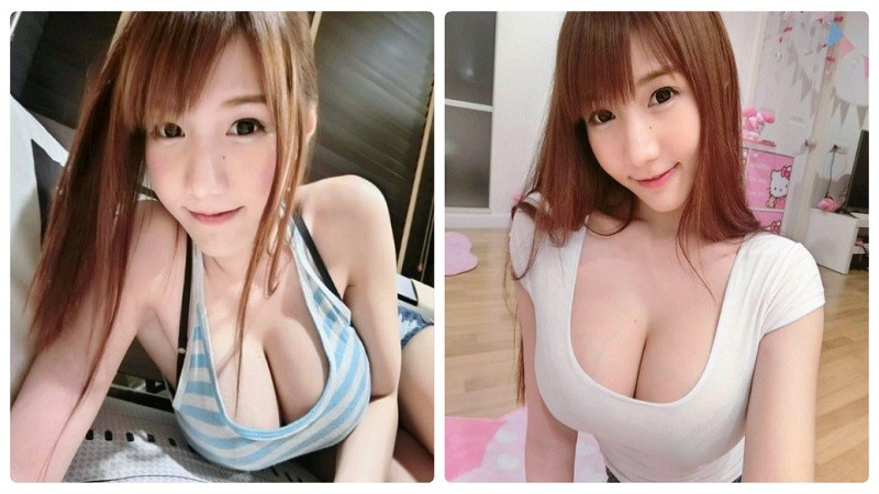 Ngộp thở với vòng 1 bốc lửa của hotgirl hàng đầu Thái Lan