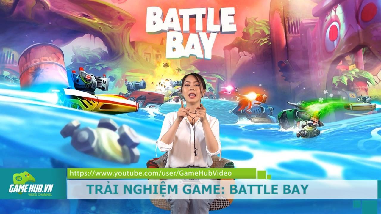 Thủy chiến điên cuồng với game bắn súng Battle Bay