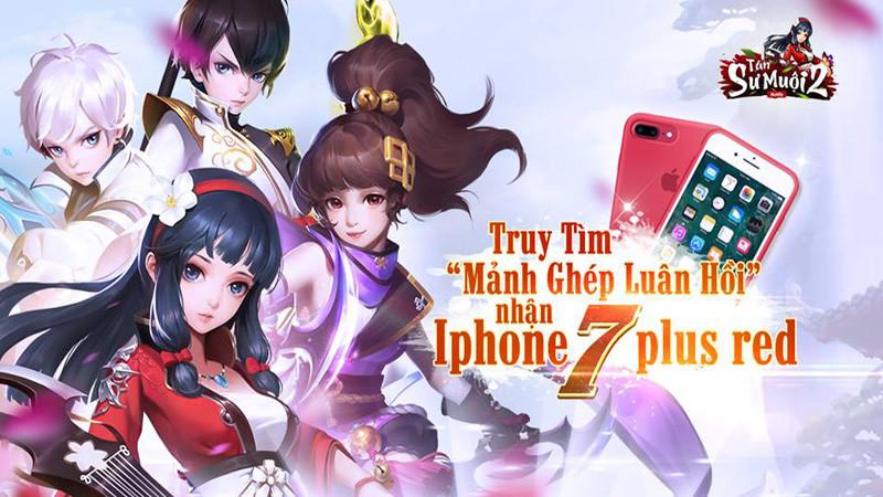 Tân Sư Muội 2 ra mắt landing page, tặng ngay iPhone 7 Plus Red