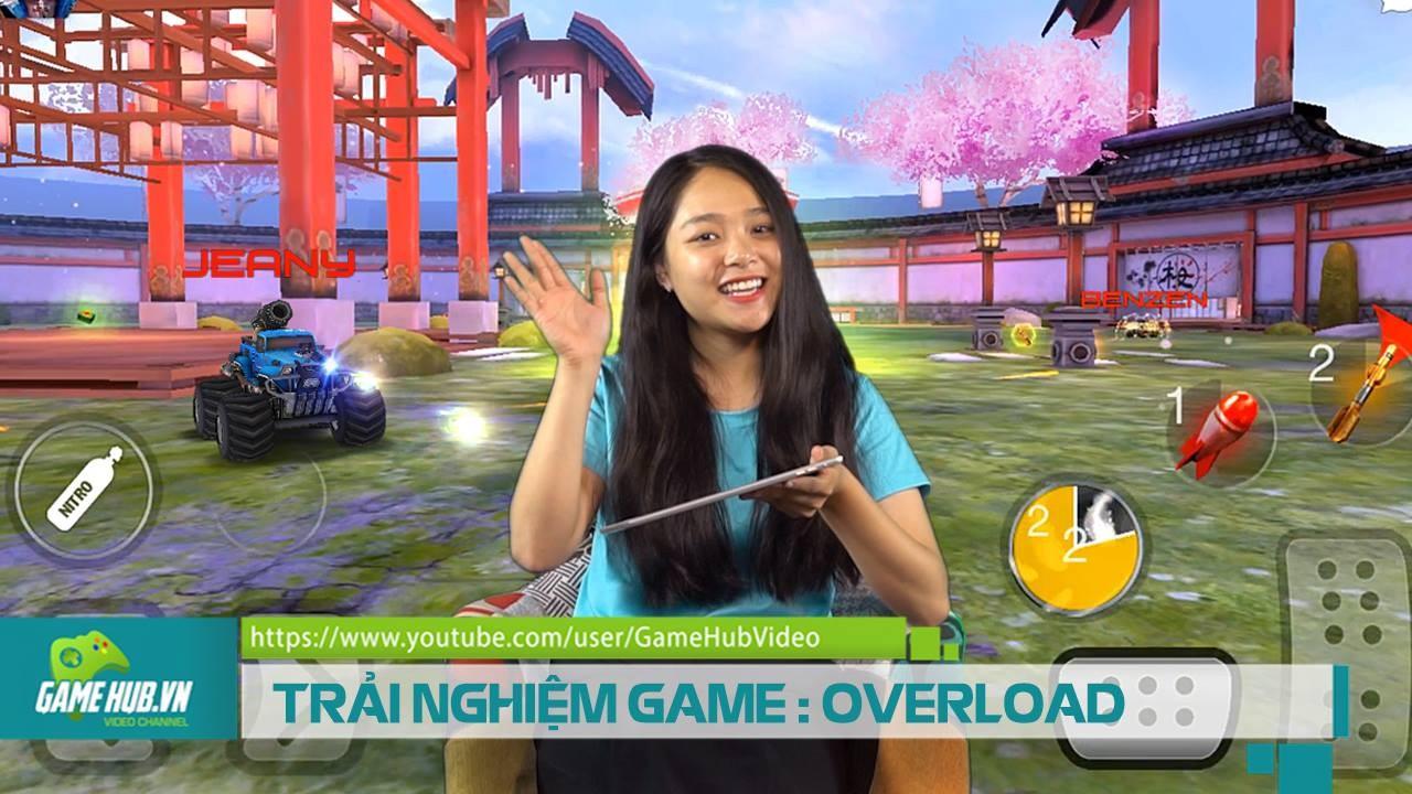 Vừa đua xe vừa chiến nhau loạn xạ với game Overload