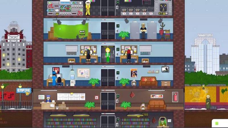 Empire TV - Xây dựng... Đài Truyền Hình trong game quản lý siêu độc