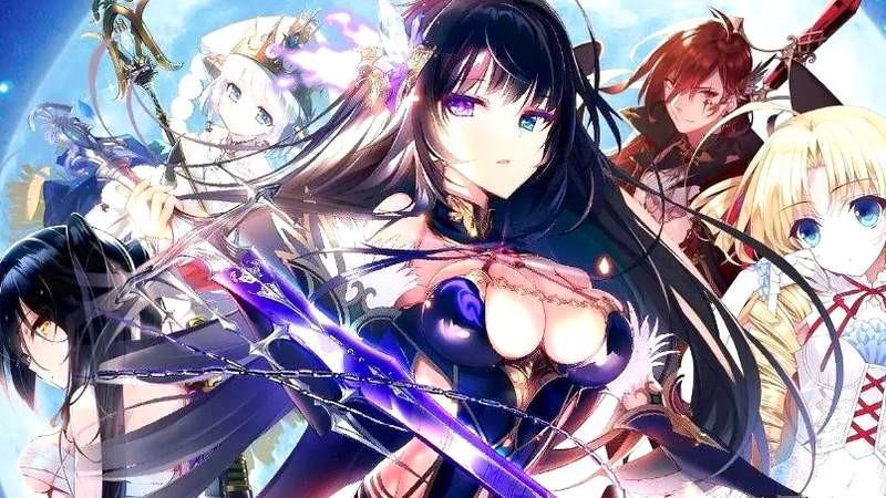 Bỏng mắt với Moonless God - RPG đậm chất Anime