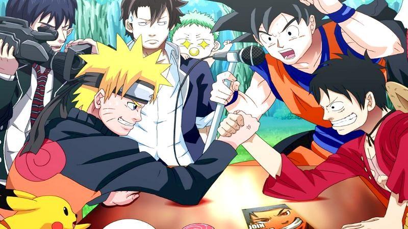 J-Stars Victory VS - Naruto chiến One Piece và Thủy Thủ Mặt Trăng trong game cực độc