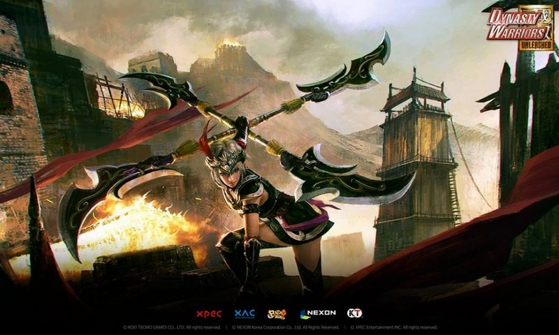Dynasty Warriors: Unleashed - Big Update Đại...