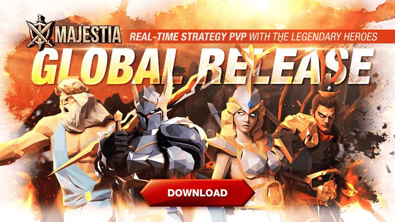 Tân binh tiếp theo của Com2us – Majestia chính thức ra mắt