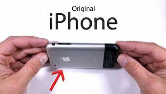 Thử độ bền chiếc iPhone đời đầu