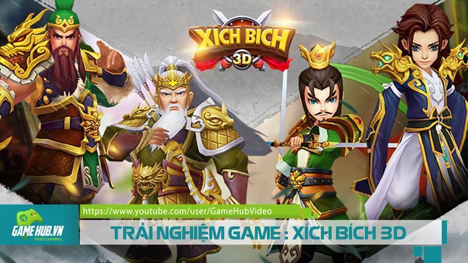 Trải nghiệm Xich Bich 3D -  Game thủ thành chiến thuật Tam Quốc đỉnh cao trên mobile