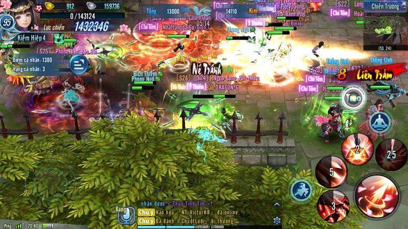 Chiến trường liên server: Khi khả năng PK quyết định tất cả
